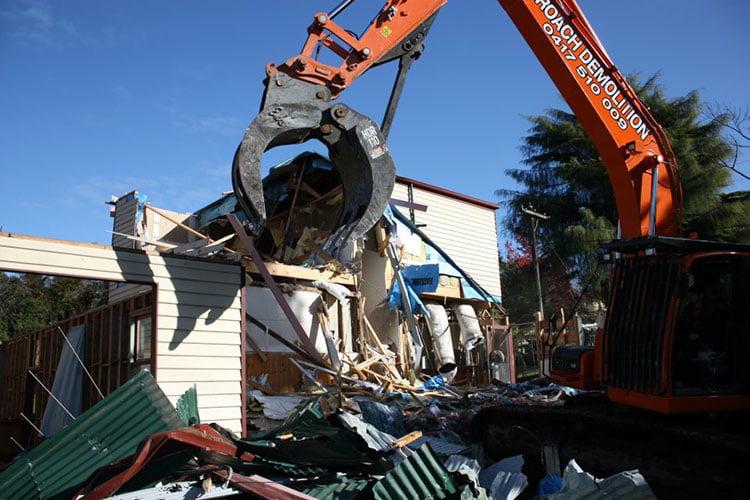 demolition checklist